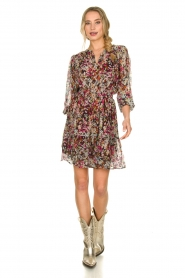 Dante 6 |  Flower print dress Okala | multi  | Picture 3