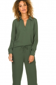 Dante 6 |  Blouse Rush | green  | Picture 4