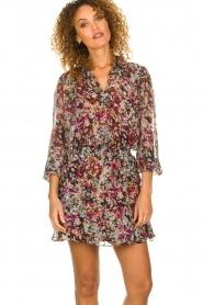 Dante 6 |  Flower blouse Sybella | multi  | Picture 4