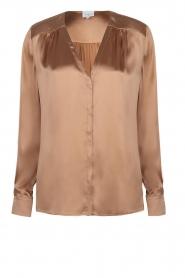 Dante 6 |  Silk blouse Kalea | bronze  | Picture 1