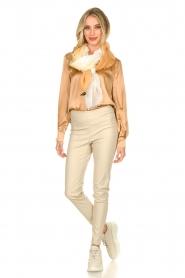 Dante 6 |  Silk blouse Kalea | bronze  | Picture 3