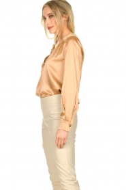 Dante 6 |  Silk blouse Kalea | bronze  | Picture 5