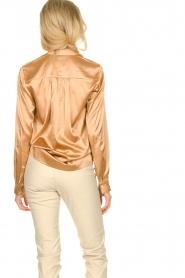Dante 6 |  Silk blouse Kalea | bronze  | Picture 6