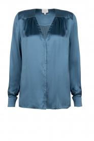 Dante 6 |  Silk blouse Kalea | blue  | Picture 1