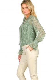 Dante 6 |  Blouse with print Orelie | green  | Picture 5
