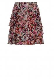 Dante 6 |  Flower print skirt | multi  | Picture 1