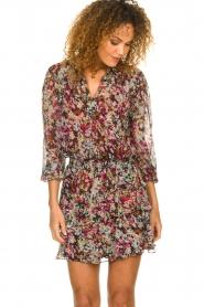 Dante 6 |  Flower print skirt | multi  | Picture 2