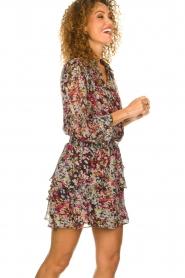 Dante 6 |  Flower print skirt | multi  | Picture 4