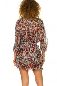 Dante 6 |  Flower print skirt | multi  | Picture 5
