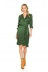 Dante 6 |  Wrap dress Hayden | green  | Picture 3