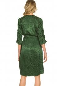 Dante 6 |  Wrap dress Hayden | green  | Picture 5