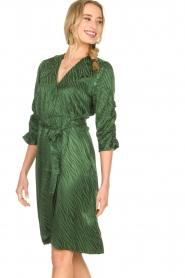 Dante 6 |  Wrap dress Hayden | green  | Picture 2