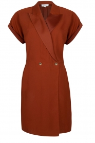 Dante 6 |  Smoking dress Le saint | brown  | Picture 1