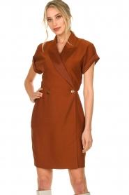 Dante 6 |  Smoking dress Le saint | brown  | Picture 2