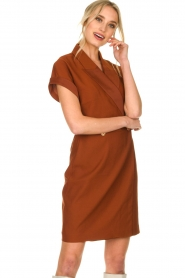 Dante 6 |  Smoking dress Le saint | brown  | Picture 4