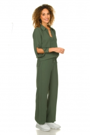Dante 6 |  Trousers with drawstring Noraly | green  | Picture 3