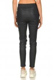 Dante 6 |  Leather pants Lebon | blue  | Picture 5