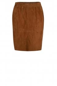 Dante 6 |  Suede skirt Comet | brown  | Picture 1