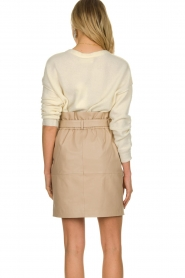 Dante 6 |  Paper bag skirt Courci  | natural  | Picture 6