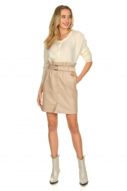 Dante 6 |  Paper bag skirt Courci  | natural  | Picture 3