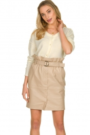 Dante 6 |  Paper bag skirt Courci  | natural  | Picture 4