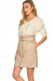 Dante 6 |  Paper bag skirt Courci  | natural  | Picture 5
