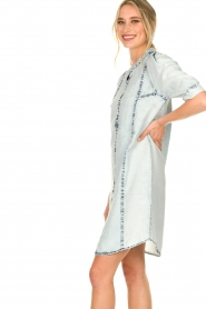 Dante 6 |  Tencell dress Pacato | blue  | Picture 5