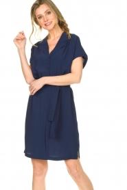 Dante 6 |  Blouse dress Sabeau |  blue  | Picture 4