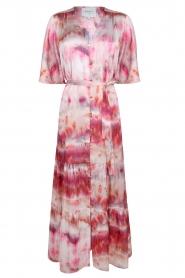 Dante 6 |  Tie dye midi dress Avar | pink  | Picture 1