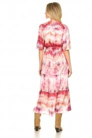 Dante 6 |  Tie dye midi dress Avar | pink  | Picture 6
