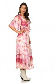Dante 6 |  Tie dye midi dress Avar | pink  | Picture 4
