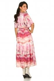 Dante 6 |  Tie dye midi dress Avar | pink  | Picture 5
