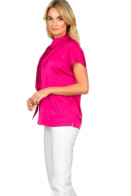 Dante 6 |  Blouse with bow Serena | pink  | Picture 4
