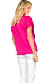 Dante 6 |  Blouse with bow Serena | pink  | Picture 5