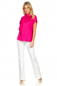 Dante 6 |  Blouse with bow Serena | pink  | Picture 3
