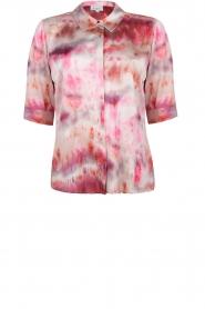 Dante 6 |  Edda tie dye blouse | pink  | Picture 1