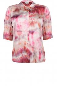 Dante 6 |  Tie dye blouse Edda | pink  | Picture 1