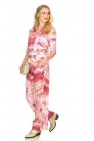 Dante 6 |  Tie dye blouse Edda | pink  | Picture 7