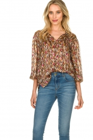 Dante 6 |  Blouse with print June | multi  | Picture 2