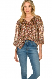 Dante 6 |  Blouse with print June | multi  | Picture 4