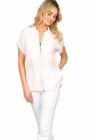 Dante 6 |  Wide fit blouse Poppy | pink   | Picture 4