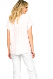 Dante 6 |  Wide fit blouse Poppy | pink   | Picture 6