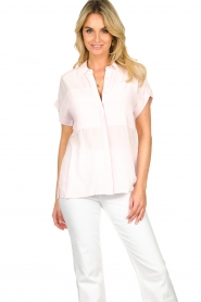Dante 6 |  Wide fit blouse Poppy | pink   | Picture 2