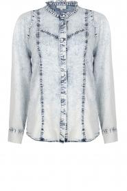 Dante 6 |  Denim blouse Covey | blue  | Picture 1