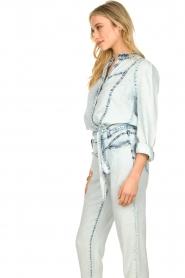 Dante 6 |  Denim blouse Covey | blue  | Picture 4