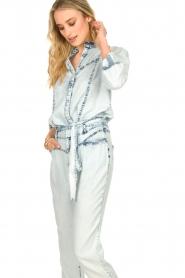 Dante 6 |  Denim blouse Covey | blue  | Picture 2