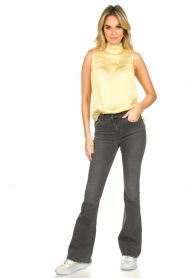 Dante 6 |  Turtleneck blouse Sunshine | yellow  | Picture 3