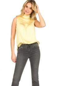 Dante 6 |  Turtleneck blouse Sunshine | yellow  | Picture 2