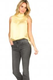 Dante 6 |  Turtleneck blouse Sunshine | yellow  | Picture 5