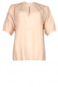 Dante 6 | Katoenen blouse Birken | nude   | Afbeelding 1